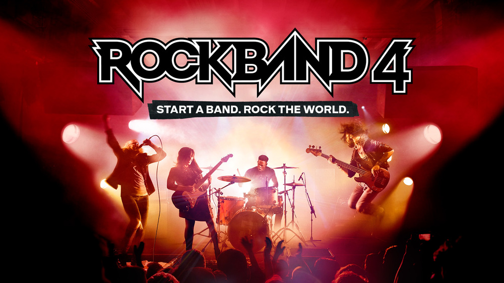 Key artwork for ROCKBAND 4.