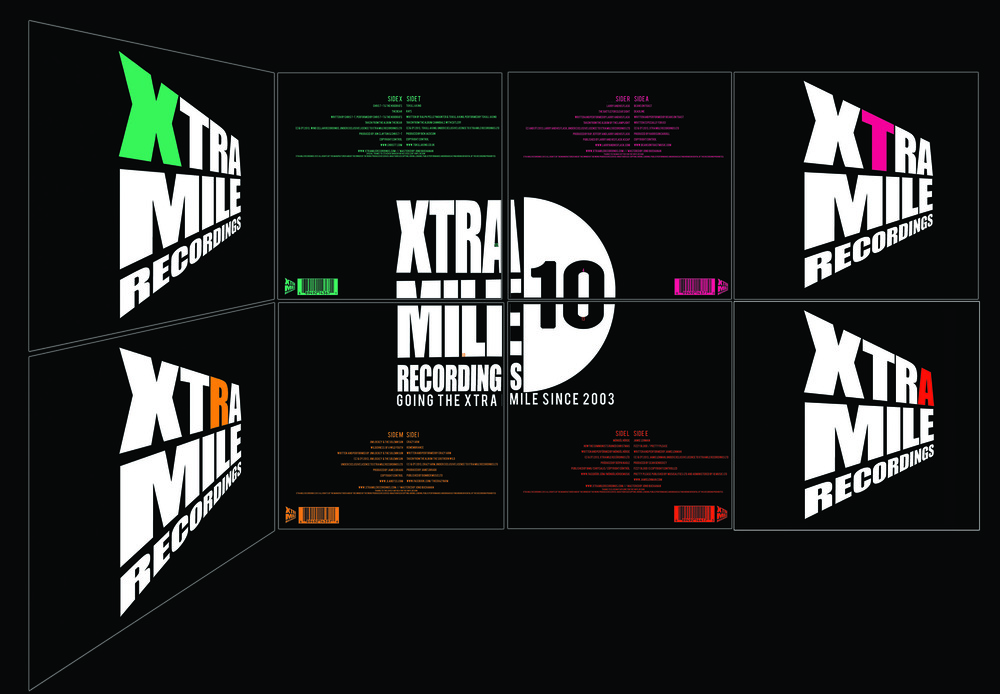 Xtra Mile 10 Vinyl Box Set
