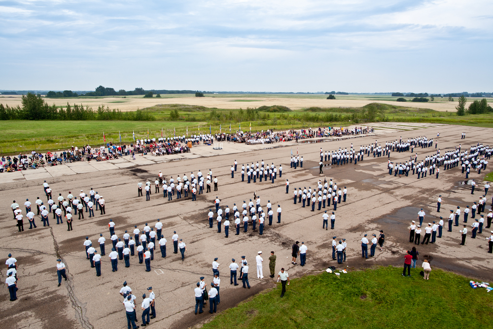 The Final Cadet Parade - August 15th, 2014