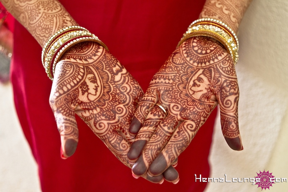 Mehndi Design Couple Hands : Dulha dulhan mehndi from henna lounge