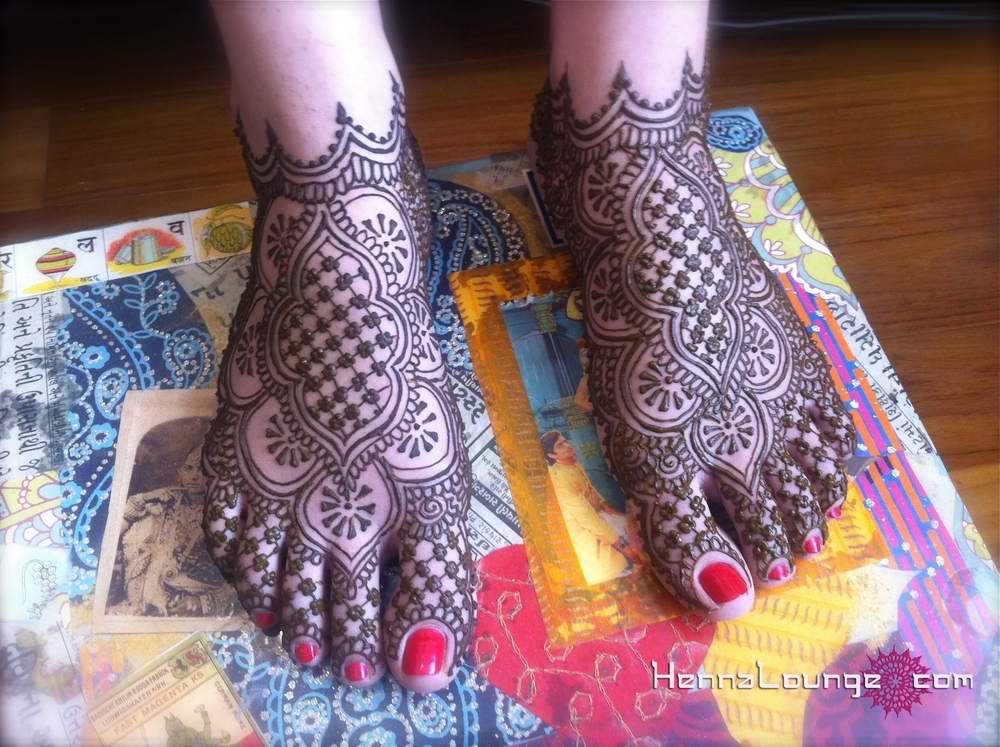 Mehndi Wallpapers Feet : Dulha dulhan mehndi from u henna lounge