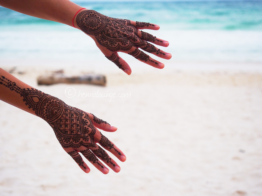 Henna at Utopia, Tulum aka  Yoga Adventures Tulum
