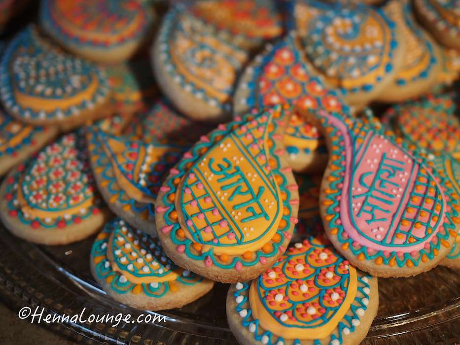 Lacey Indian cookies for the Wedding Reception