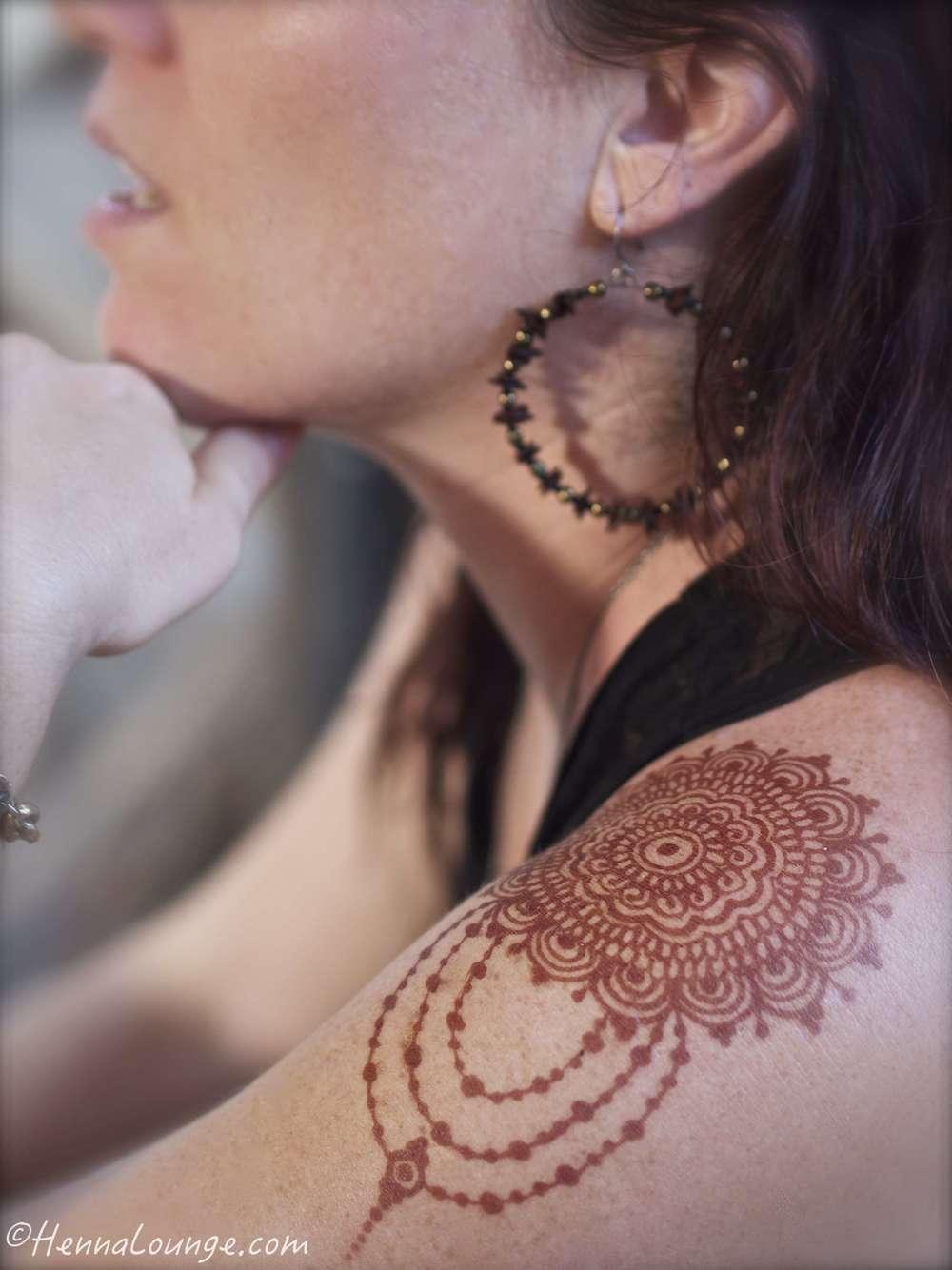 Jewelry style mehndi