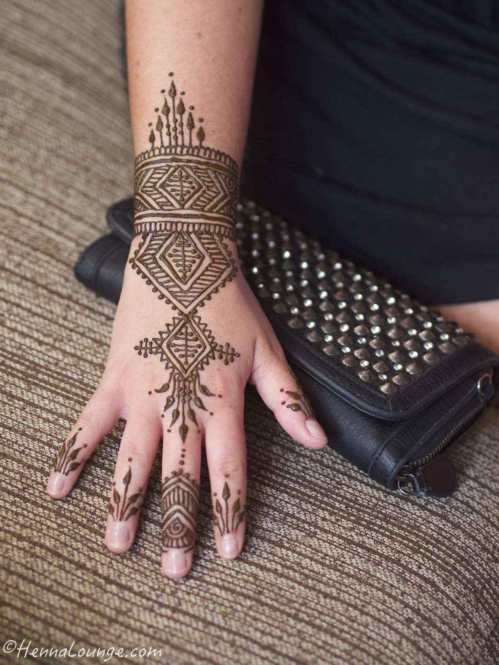 Moroccan fusion mehndi