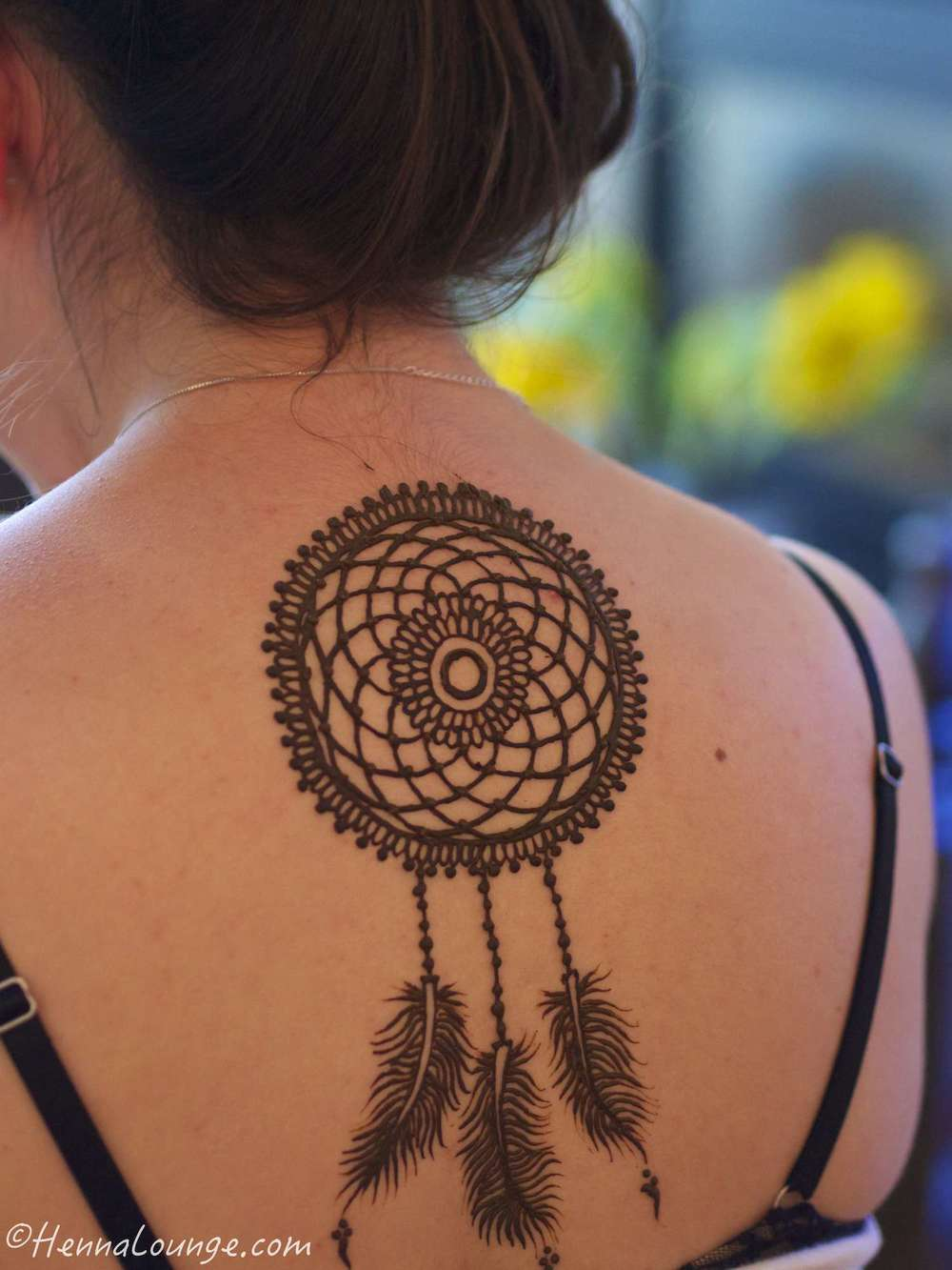 Dreamcatcher for a festival-goer (Electric Daisy Carnival)