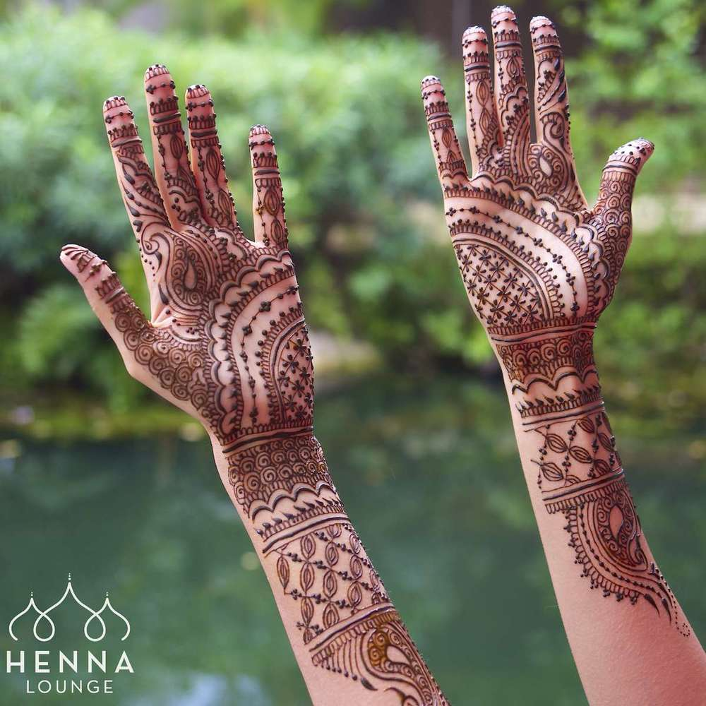 Henna with a lush jungle setting at the Fairmont Mayakoba
