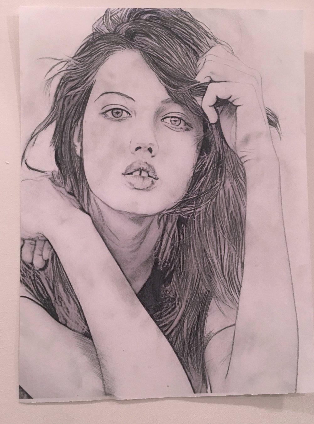 Lindsey Wixson - Illustration X Vogue