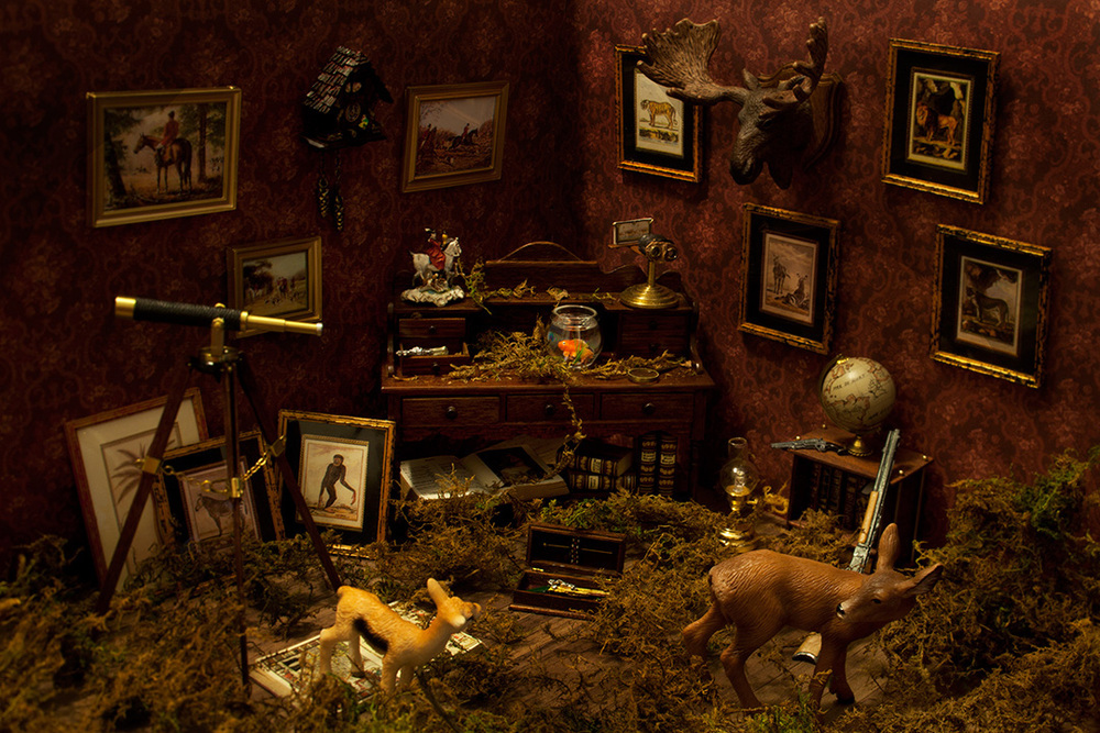 The Hunting room