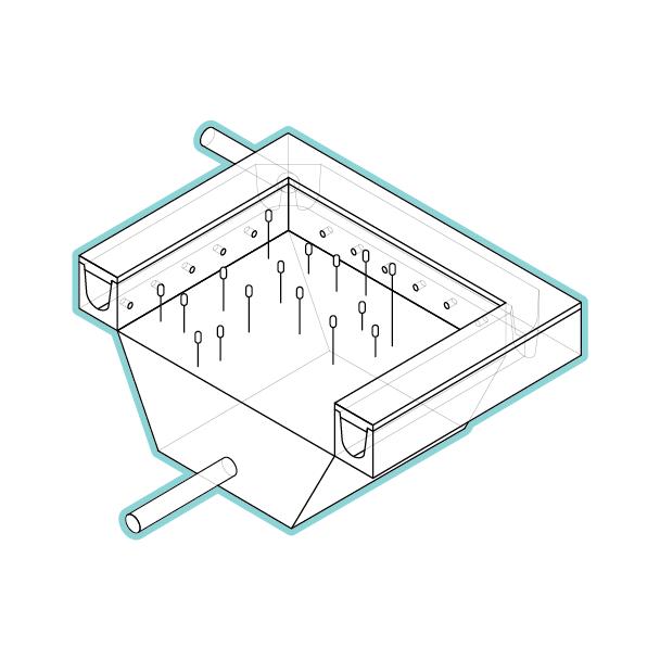 Biofilter - stap 2: zuiveringOnze biofilter is een groen, compact en modulair systeem voor waterzuivering met een hoog rendement.De biofilters zijn geoptimaliseerd om samen te werken met infiltratiesystemen. Ze voorkomen verstopping van de putten en zijn in vele configuraties leverbaar.✓ Minimaal ruimtebeslag aan maaiveld✓ Voldoen aan milieuregelgeving✓ Te combineren met Add-ons