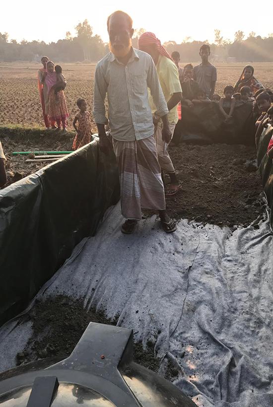 Field Factors, project CORE, rain water management