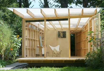 Summerhouse david caines for Garden design with summer house
