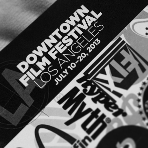 Honored to partner with #DowntownFilmFestivalLA!  The nights just heating up!