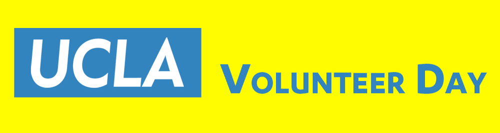Yellow Volunteer Day Logo