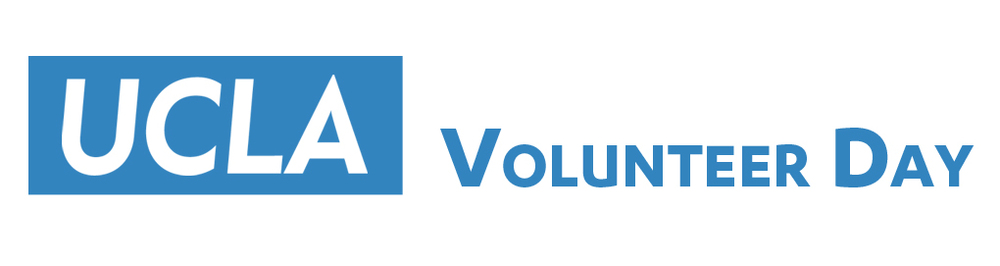 Large Volunteer Day Logo on White