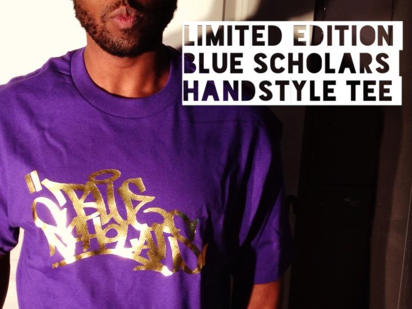 "DROPPING SOON    LIMITED ""GEO GOES BACK TO UW"" EDITION PURPLE AND ACTUAL GOLD OG HANDSTYLE TEE   STAY POSTED"