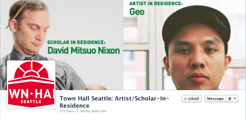 "prometheusbrown :      #TOWNHALLDAY    This month I started a three-month artist residency at Seattle's   Town Hall   along with scholar-in-residence David Mitsuo Nixon.   From the first time I performed a spoken word piece before a book reading at Town Hall like 12 years ago, I've always loved the building's architecture and atmosphere. Especially the main room, which used to be a Christian Science church. There's a north-facing atrium with 3-story high ceilings and daylight so soft you can lay your head on it.   In addition to attending and hosting events in this historic space, I get a key to the building so I can do things like write in complete silence after hours, take ill photos, and record vocals with incredible acoustic textures in the main room without using that ""large hall reverb"" plug-in. While I will be working on my own individual art during my stay, the Town Hall folks were cool with allowing me to integrate all my current collaborative projects (Blue Scholars, Rappers W/ Cameras, The Bar) into the residency, which concludes with a  conclusionary  presentation of my work on  April 28 .    I would like to invite the whole city of Seattle to join me at the following events at Town Hall:    February 28: Paul Muldoon: Poems That Double As Rock Lyrics (attending)   March 1: Youth Speaks Grand Slam (hosting)   March 5: Po Bronson & Ashley Merryman: The Science of Competition (attending)   March 21: Rappers w/ Cameras At Town Hall (hosting)  April 28: Conclusionary event (hosting/performance)  Visit the  Town Hall Seattle  website for more info and a complete schedule of dope events you should check out."