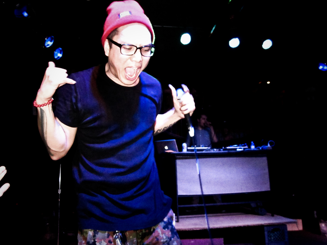 pamjane: Blue Scholars - The Wild Buffalo 11/29/12