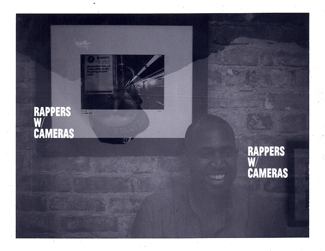 prometheusbrown: brownouts: RAPPERS W/ CAMERAS 001  AVAILABLE NOW. CLICK PHOTO TO ORDER OR GO HERE This will look great on your coffee table. Or in your bathroom.
