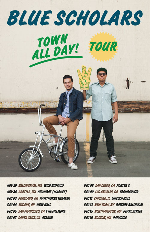 THE TOWN ALL DAY TOUR HITS YOUR TOWN NOV/DEC 2012. TICKETS ON SALE FRIDAY SEPTEMBER 14. GO TO BLUESCHOLARS.COM OR CLICK PHOTO FOR MORE INFO