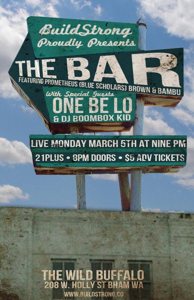 prometheusbrown: BELLINGHAM 3/5 Geo is rapping w/ @BambuDePistola in Bellingham (3/5 @ Wild Buffalo w/ @OneBeLo) & @Grynch206 album release in Seattle (3/2 @ Neumos)