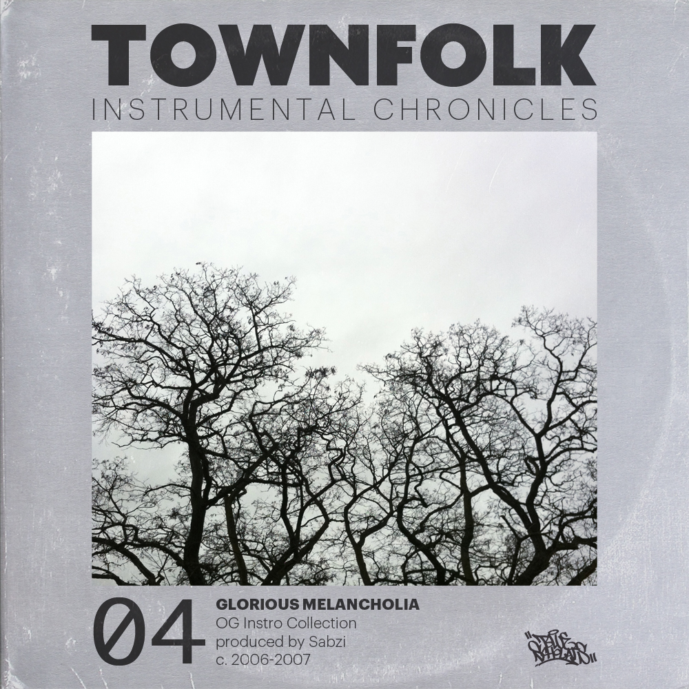 "townfolk: download GLORIOUS MELANCHOLIA 2006 was kind of a dark period.  a lot of attention was on the war, housing was really expensive, nobody liked the president, and Dilla had just died.   maybe this is what inspired me to make a bunch of beats that some would call melancholy, hopeful, or glorious.  i liked that. this collection moves away from the classic drum-break approach and explores a whole lot of snares and off-beat claps, the fusion of samples and synthesizers, and a handful of live instrumentation.  a darker, electronic and also organic vibe. these instrumentals served as the production bed for the second Blue Scholars LP, ""Bayani"""
