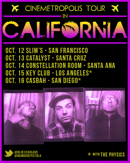 bambudepistola: CALIFORNIA, you're next… @BlueScholars @BambuDePistola (RT) CALIFORNIA IS NEXT