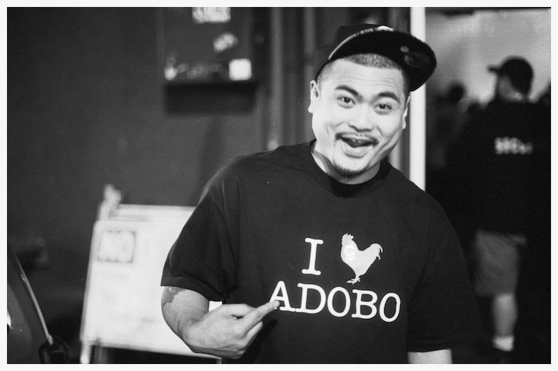 brownouts :     JFK Seattle, June 2011      I  🐔  Adobo shirt now available online at  shop.bluescholars.com !