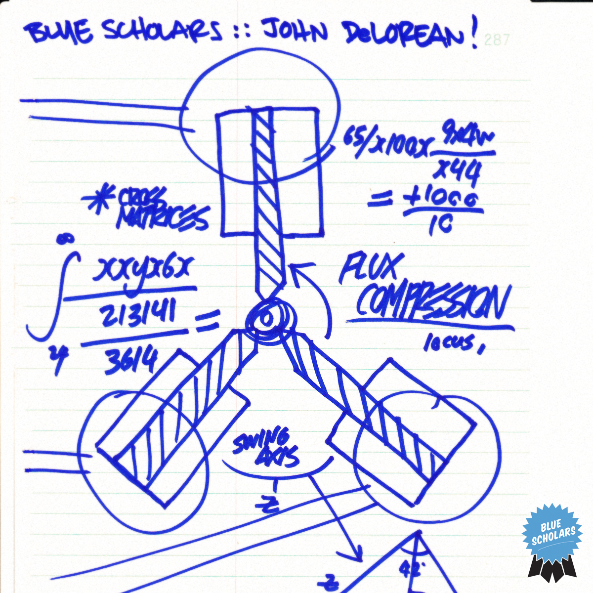 "CLICK PHOTO TO DOWNLOAD BLUE SCHOLARS - ""JOHN DELOREAN"""