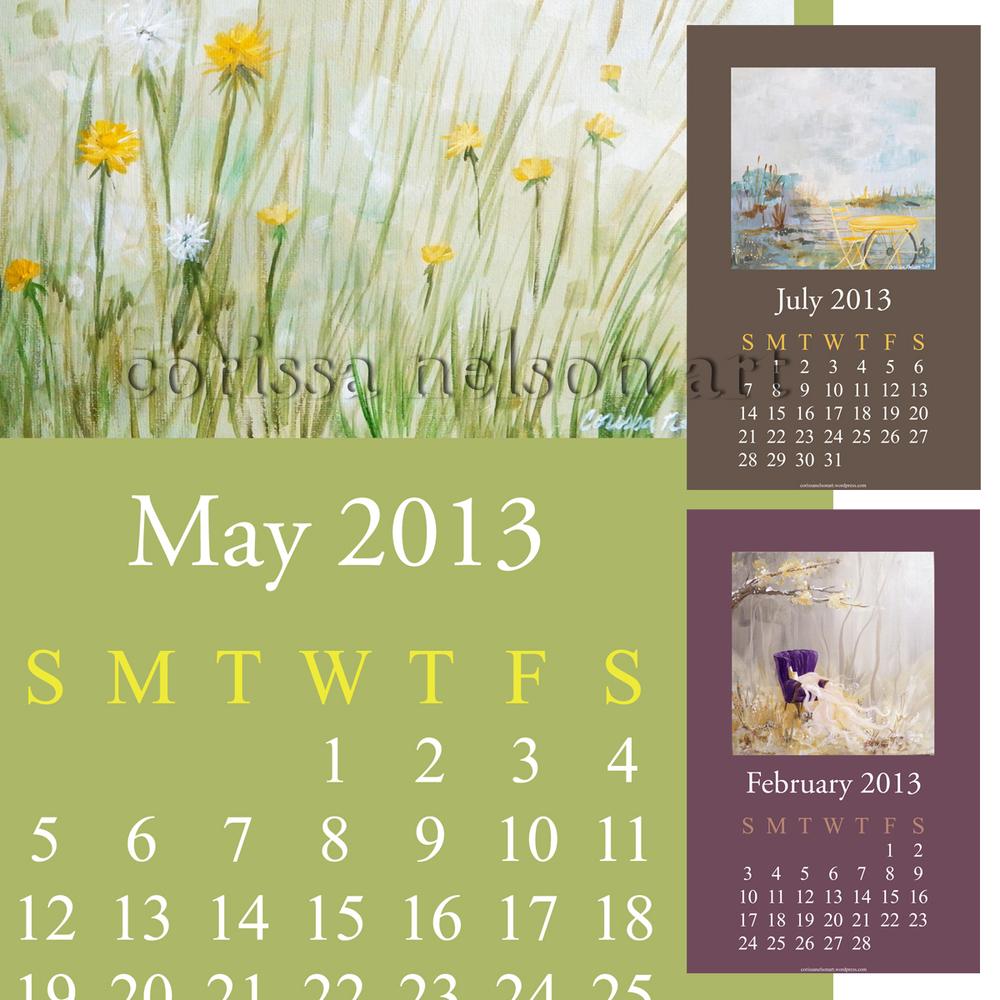 Art Calendar 2013