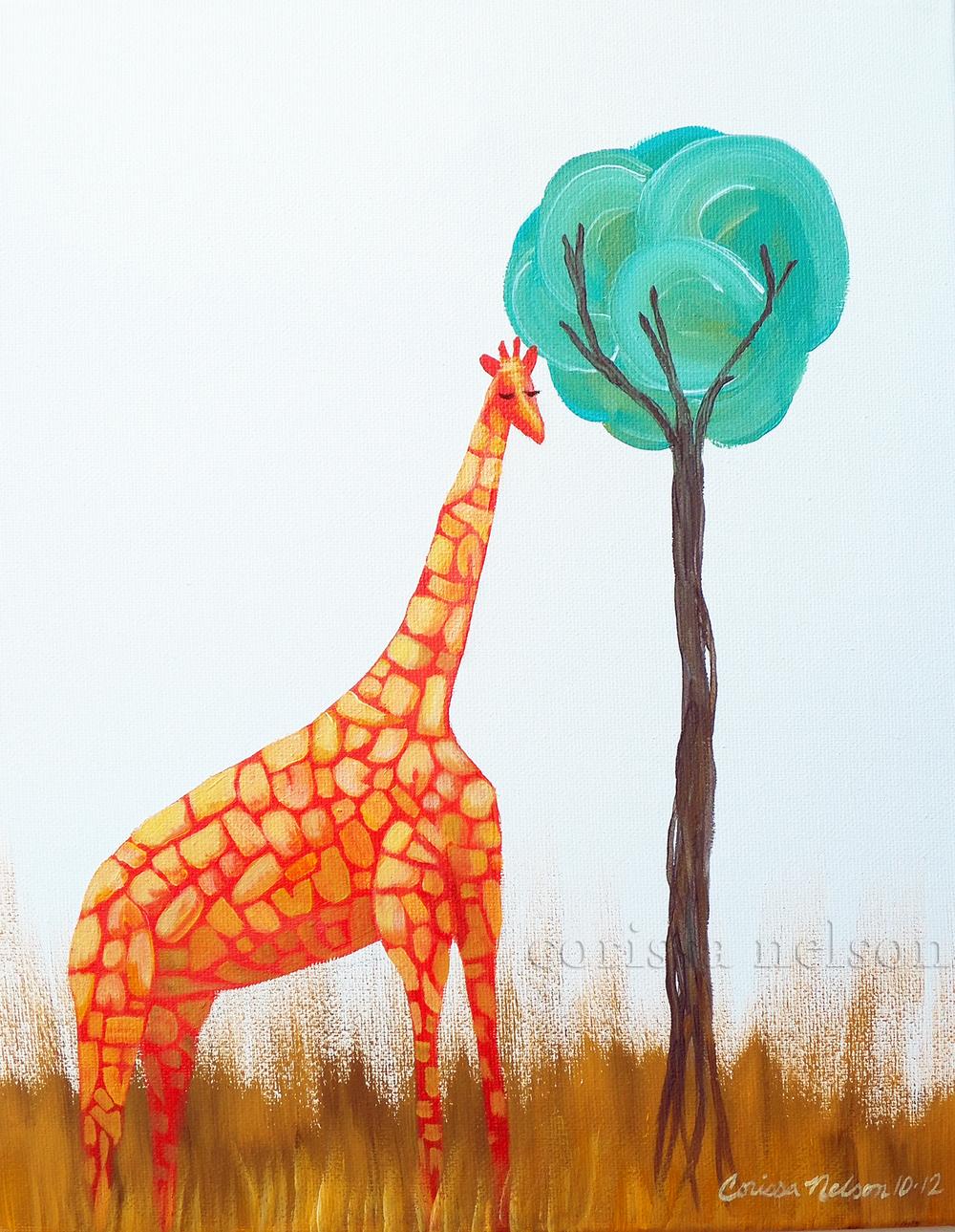 Tangerine Giraffe