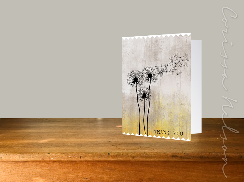 Dandelion Yellow Grey Desk