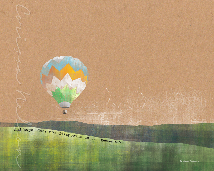 Hot Air Balloon Hope