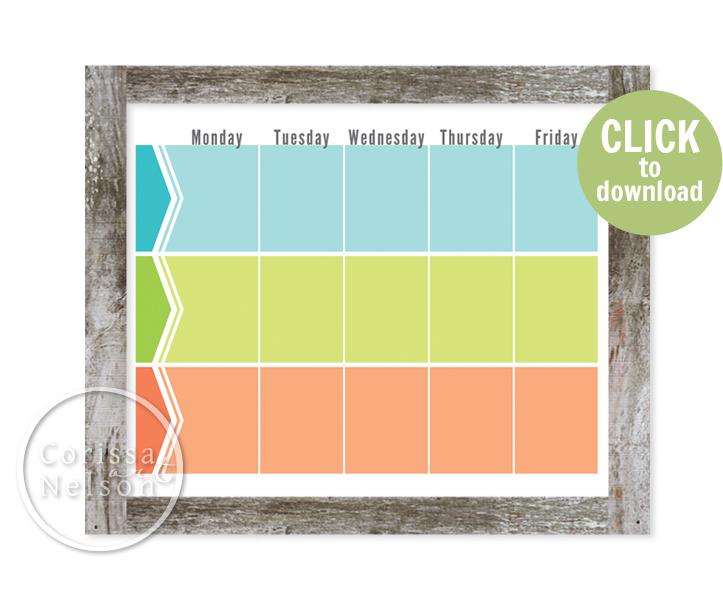 Free Planner Printable!