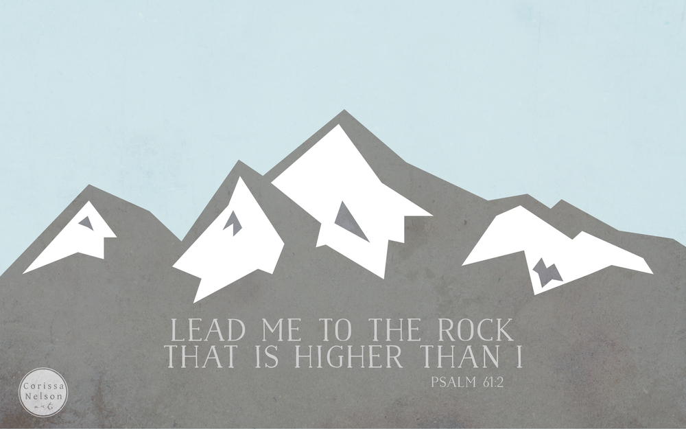 Psalm 61 - Click for additional sizes and free downloads
