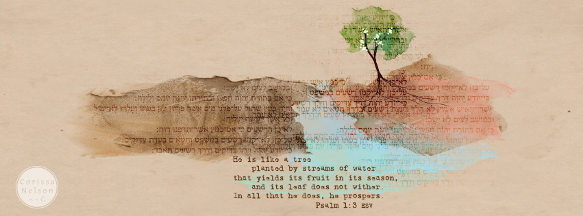 Psalm 1 Facebook Cover Art - Click to Download
