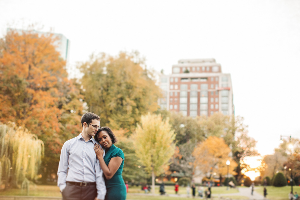 Boston City Engagement Pictures