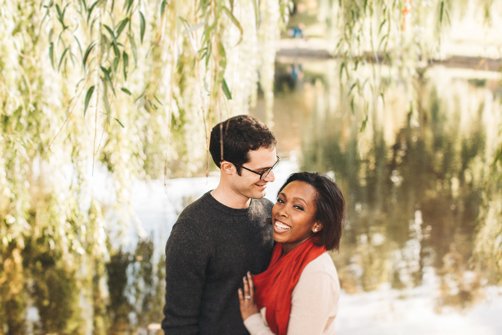 Artsy Engagement Photographer in Boston