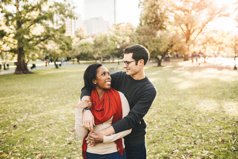 Boston Commons Engagement Session