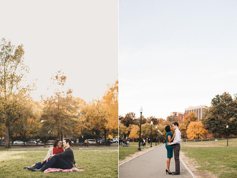 Boston Common Engagement Photographer