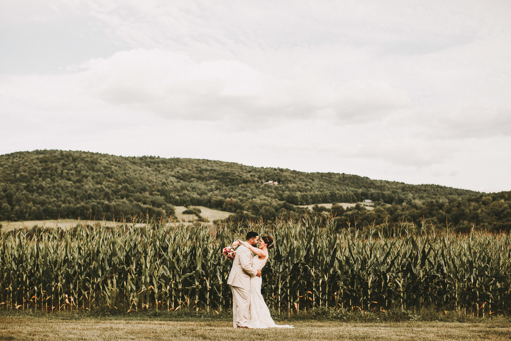 Romantic Vermont Wedding Photographers