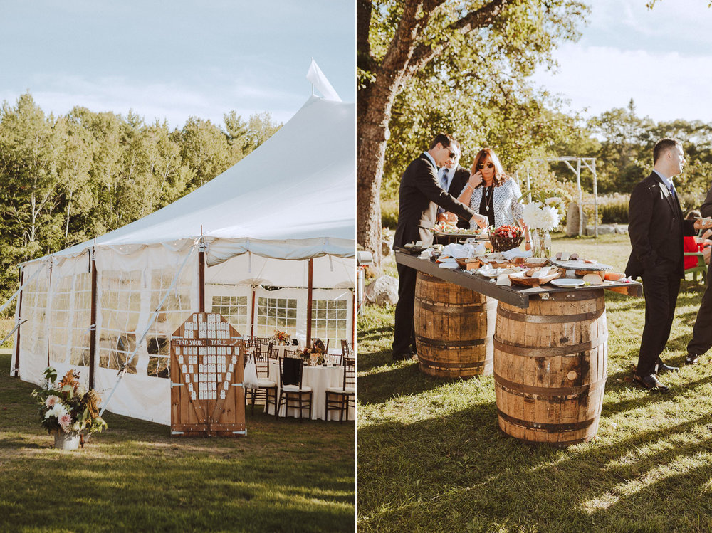 Emmon's Preserve Wedding Photography in Kennebunkport Maine