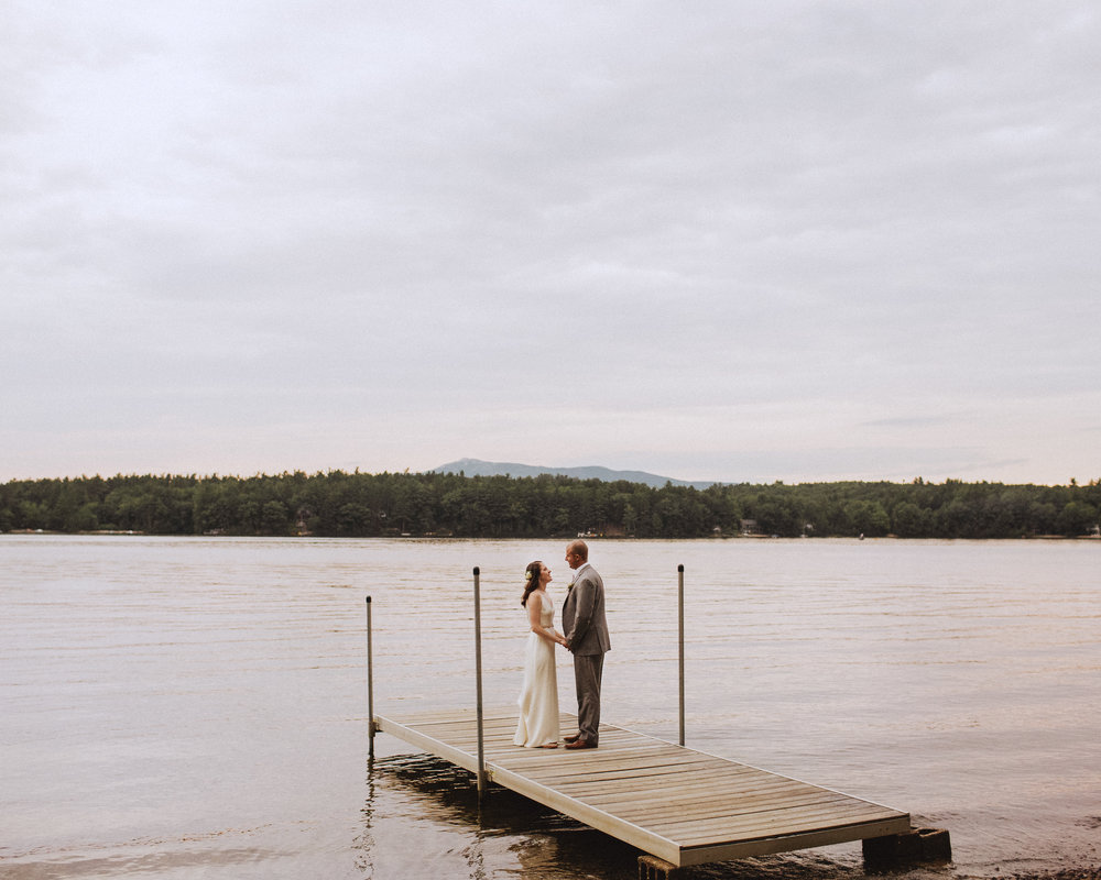 Sunset Camp Wedding in Vermont