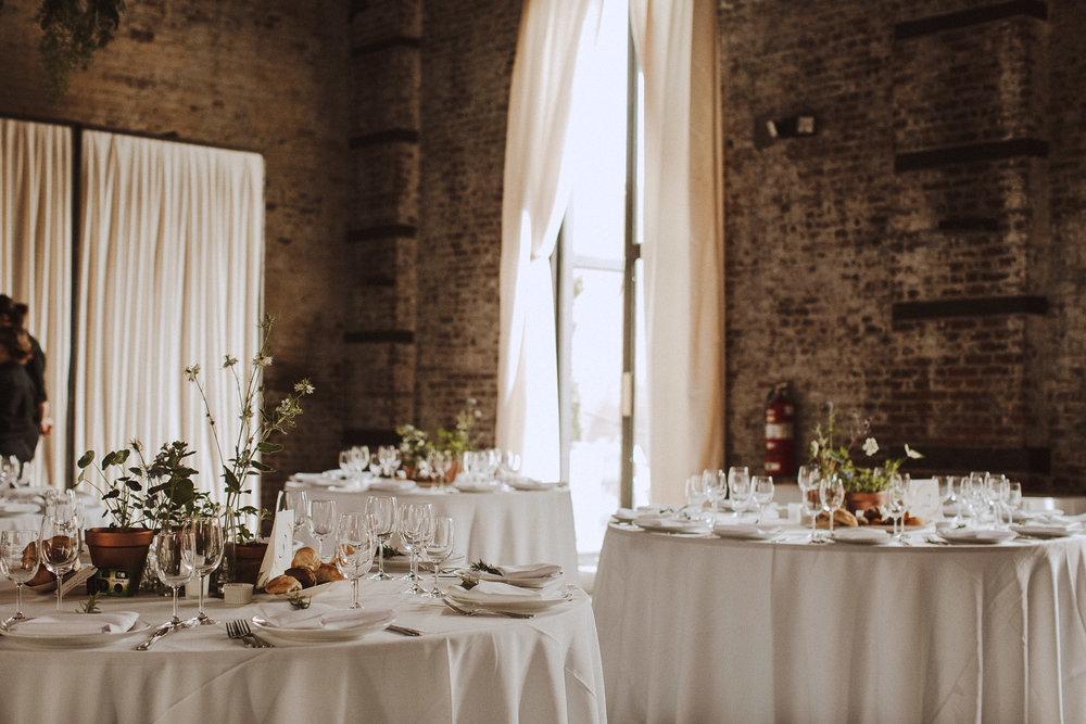 The Green Building | Artsy Brooklyn Warehouse Wedding