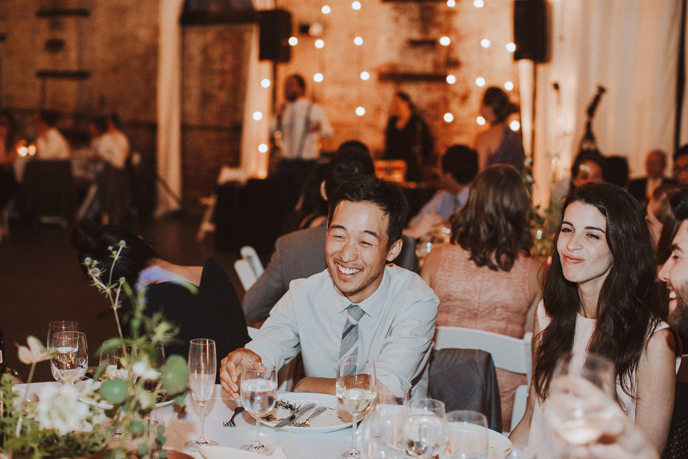 The Green Building | Artsy Brooklyn Warehouse Wedding
