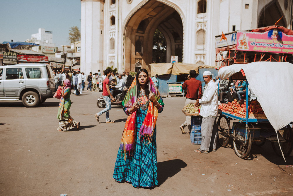 Raja Kumari in India on The Come Up Tour - Hyderabad