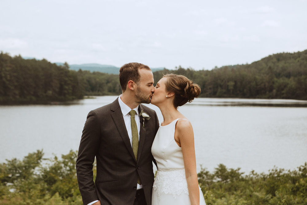 Scenic First Look Wedding Photography in New Hampshire