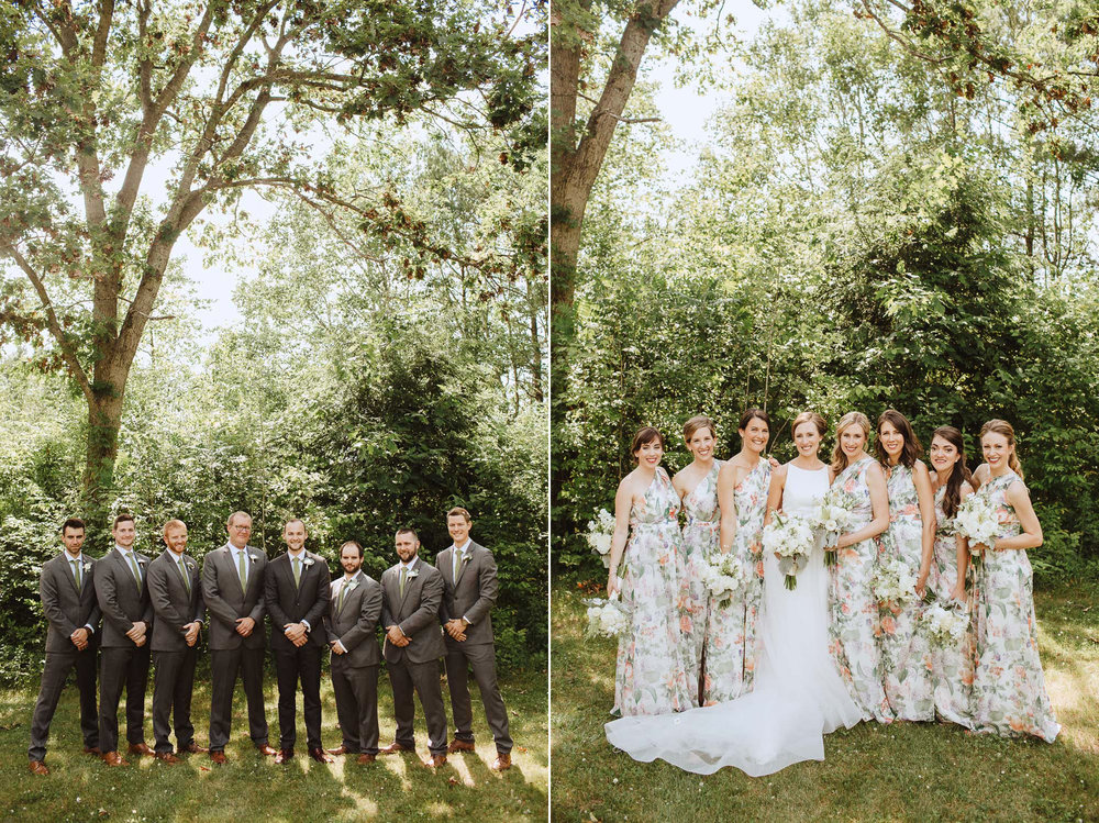 Wedding Portraits at Bishop Farm in Libson NH