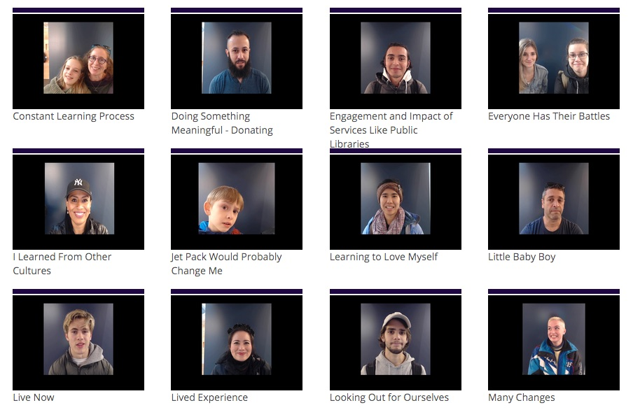 What changes you? - In morph, people record video replies to the question. Please click on the image and sample a few!