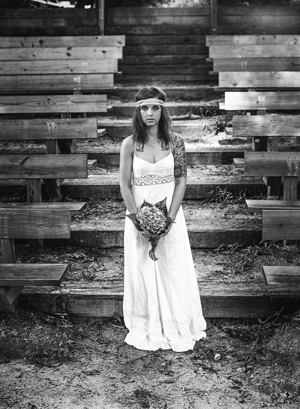 Photographer: Sharilyn Wells  Model: Patricia Dudley  Camera and Film: Mamiya 645/HP5+  © 2013 Sharilyn Wells Photography, LLC.